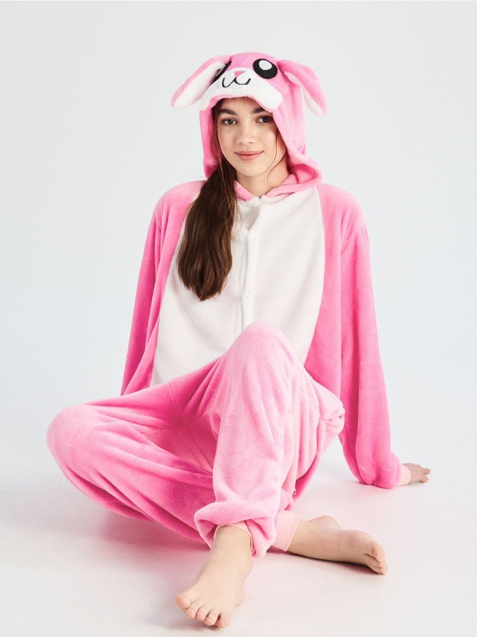 Overal králík - růžová - UN686-30X - Sinsay - 1