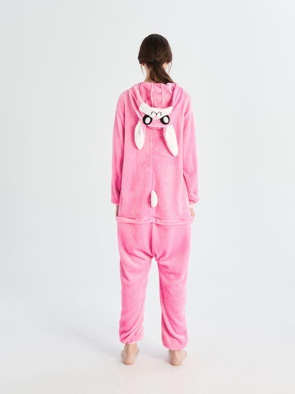 Overal králík - růžová - UN686-30X - Sinsay - 4