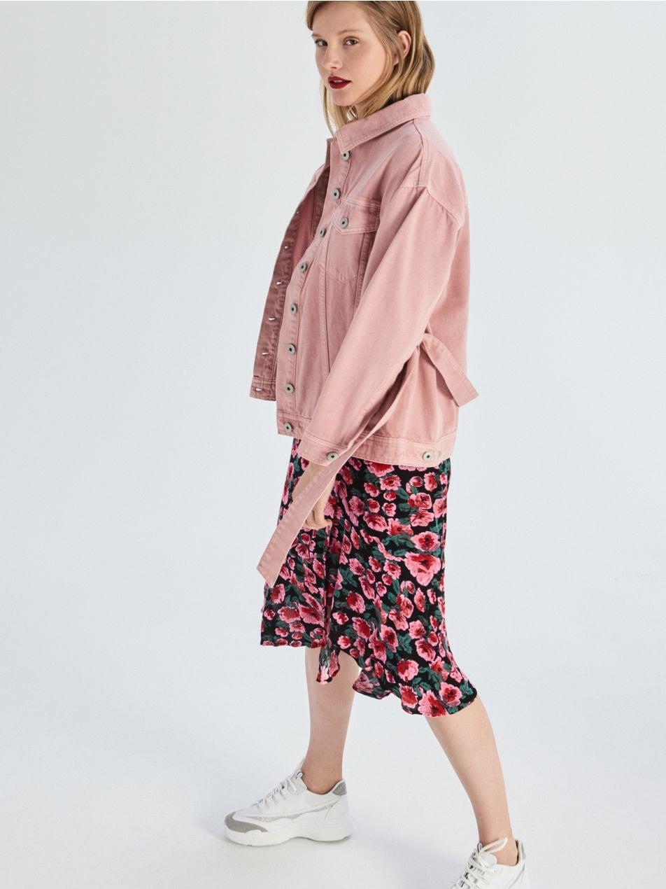 Rozšířená sukně svolánky  - vícebarevná - VF651-MLC - Sinsay - 1
