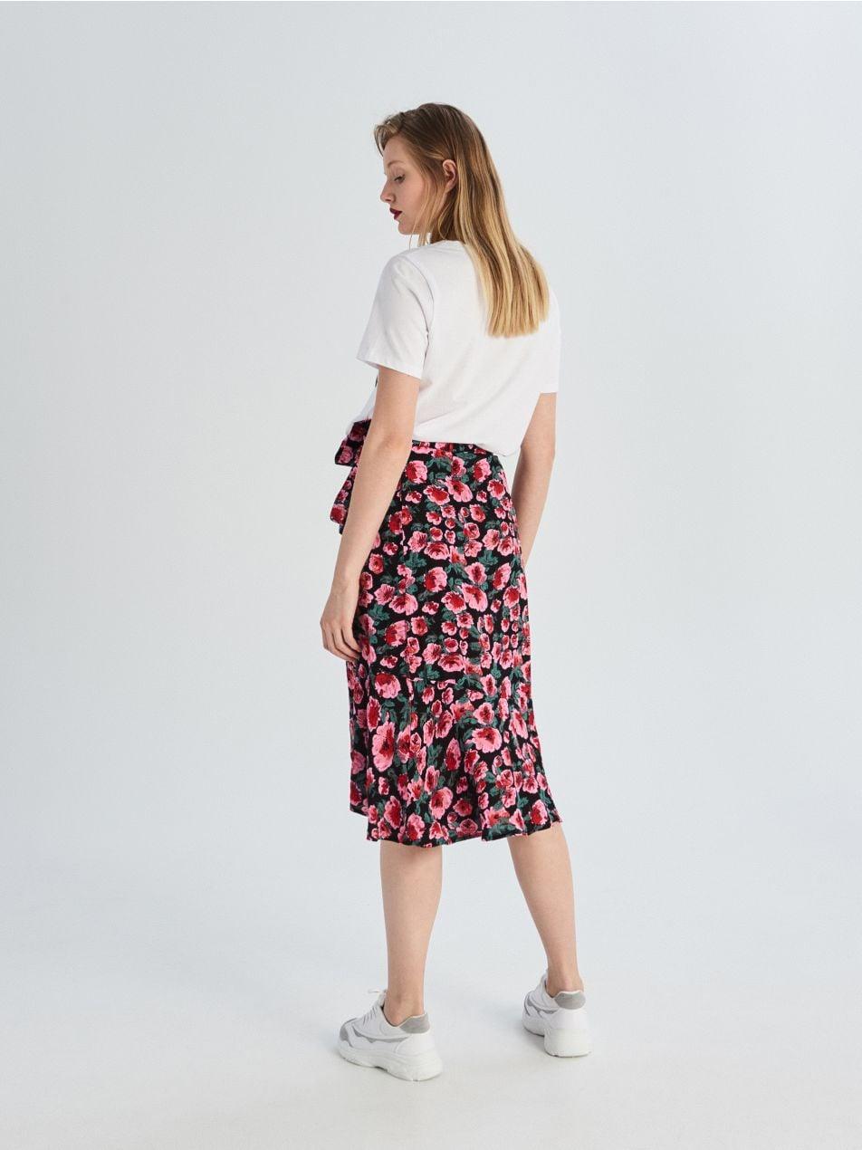 Rozšířená sukně svolánky  - vícebarevná - VF651-MLC - Sinsay - 5