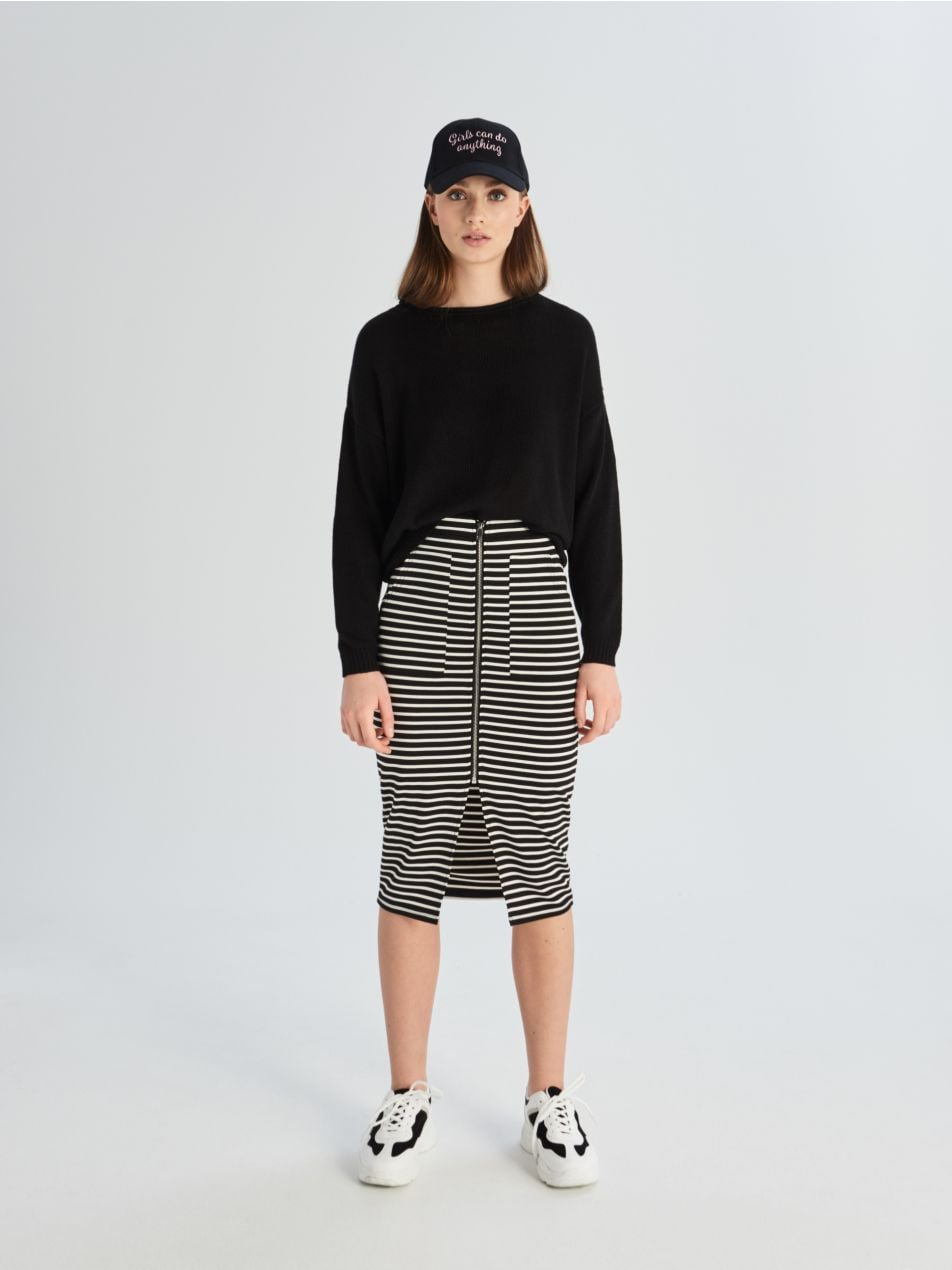 Pouzdrová sukně - vícebarevná - VF652-MLC - Sinsay - 1