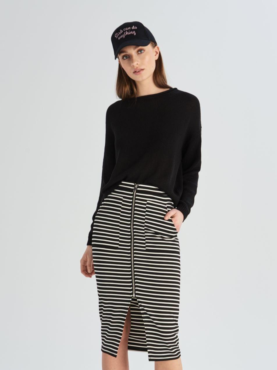 Pouzdrová sukně - vícebarevná - VF652-MLC - Sinsay - 2