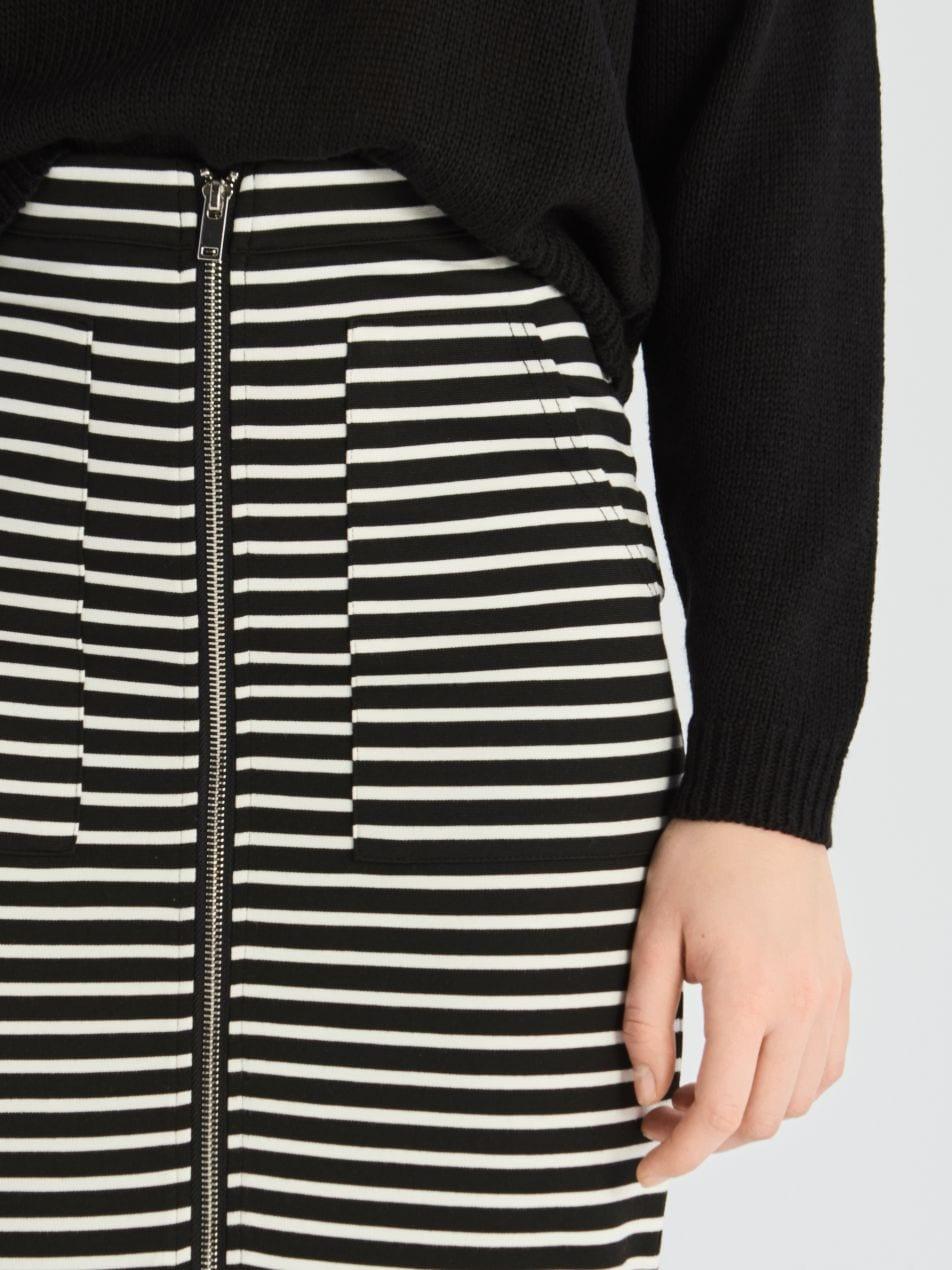 Pouzdrová sukně - vícebarevná - VF652-MLC - Sinsay - 3