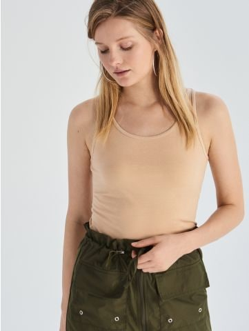 Bavlněné tričko tank top