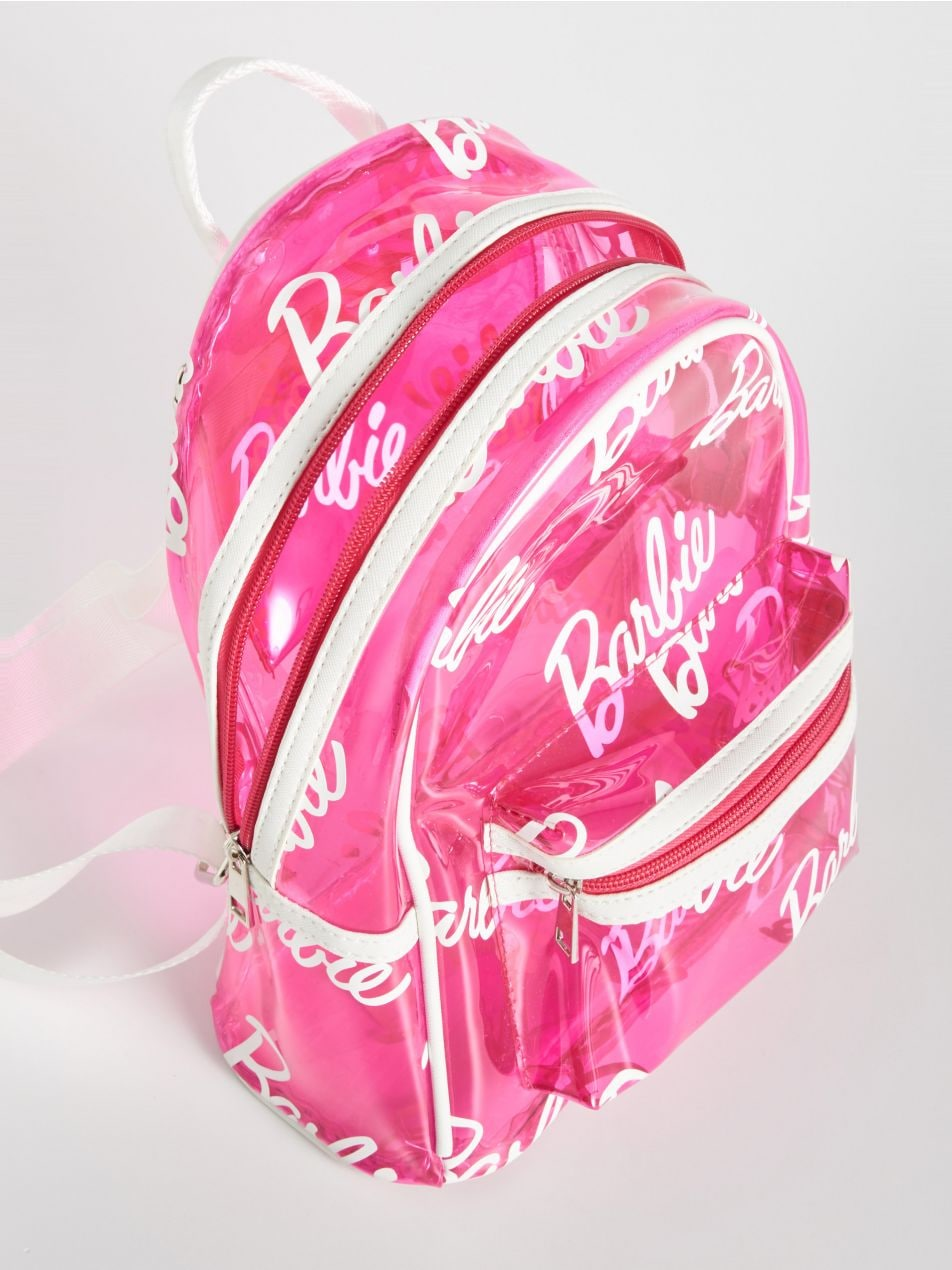 Barbie áttetsző hátizsák - rózsaszín - VJ591-30X - Sinsay - 3