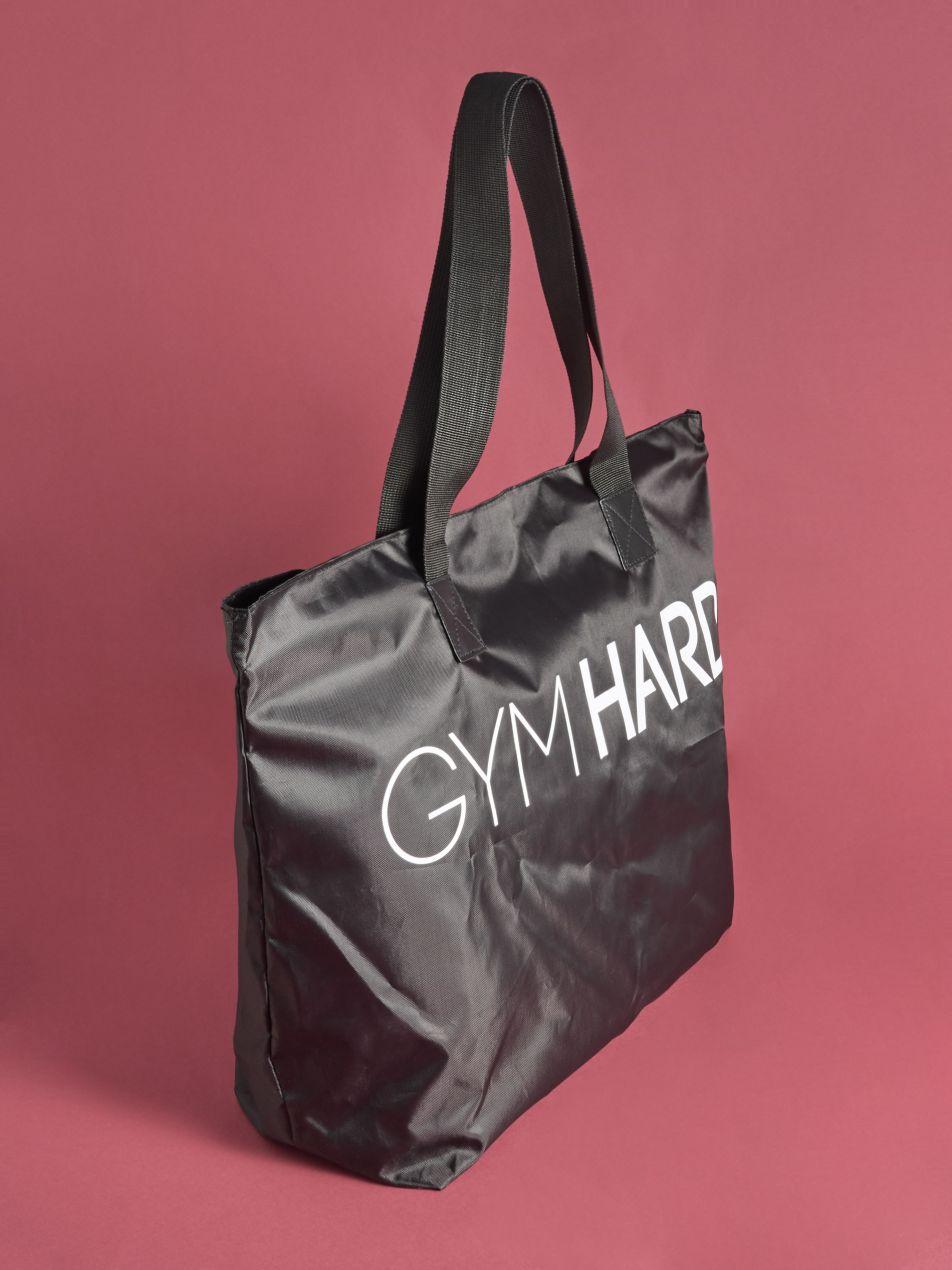 Sporttáska Gym Hard - fekete - VJ948-99X - Sinsay - 2