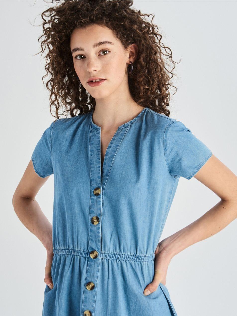 Farmer ruha - kék - VT557-50J - Sinsay - 1