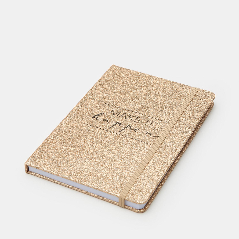 Levně Sinsay - Zápisník A5 - Růžová