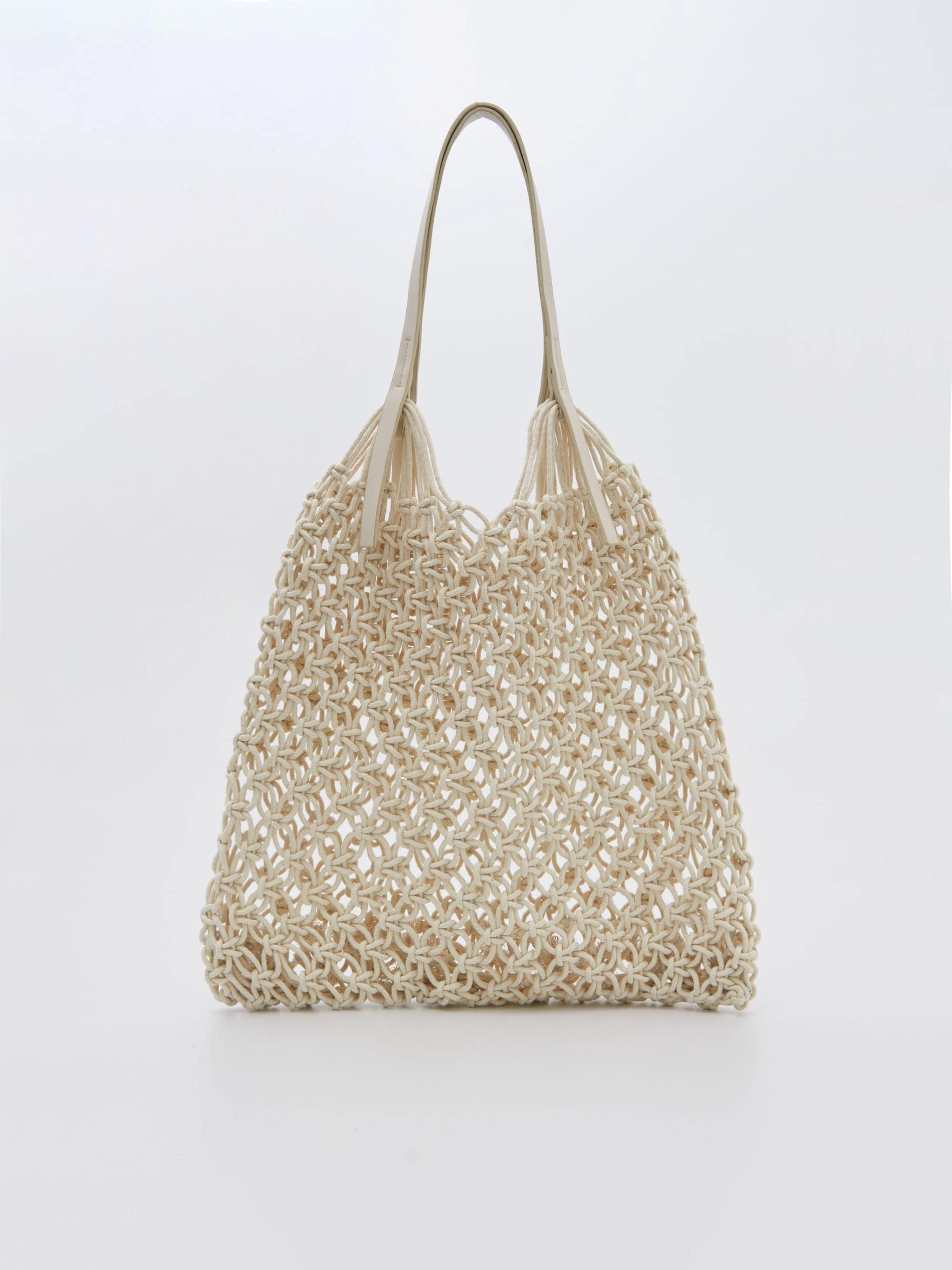 pletena torba za plažu