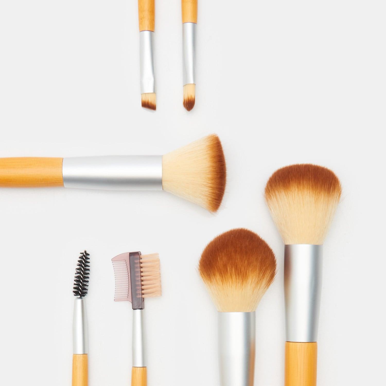 Levně Sinsay - Sada štětců na make-up - Béžová