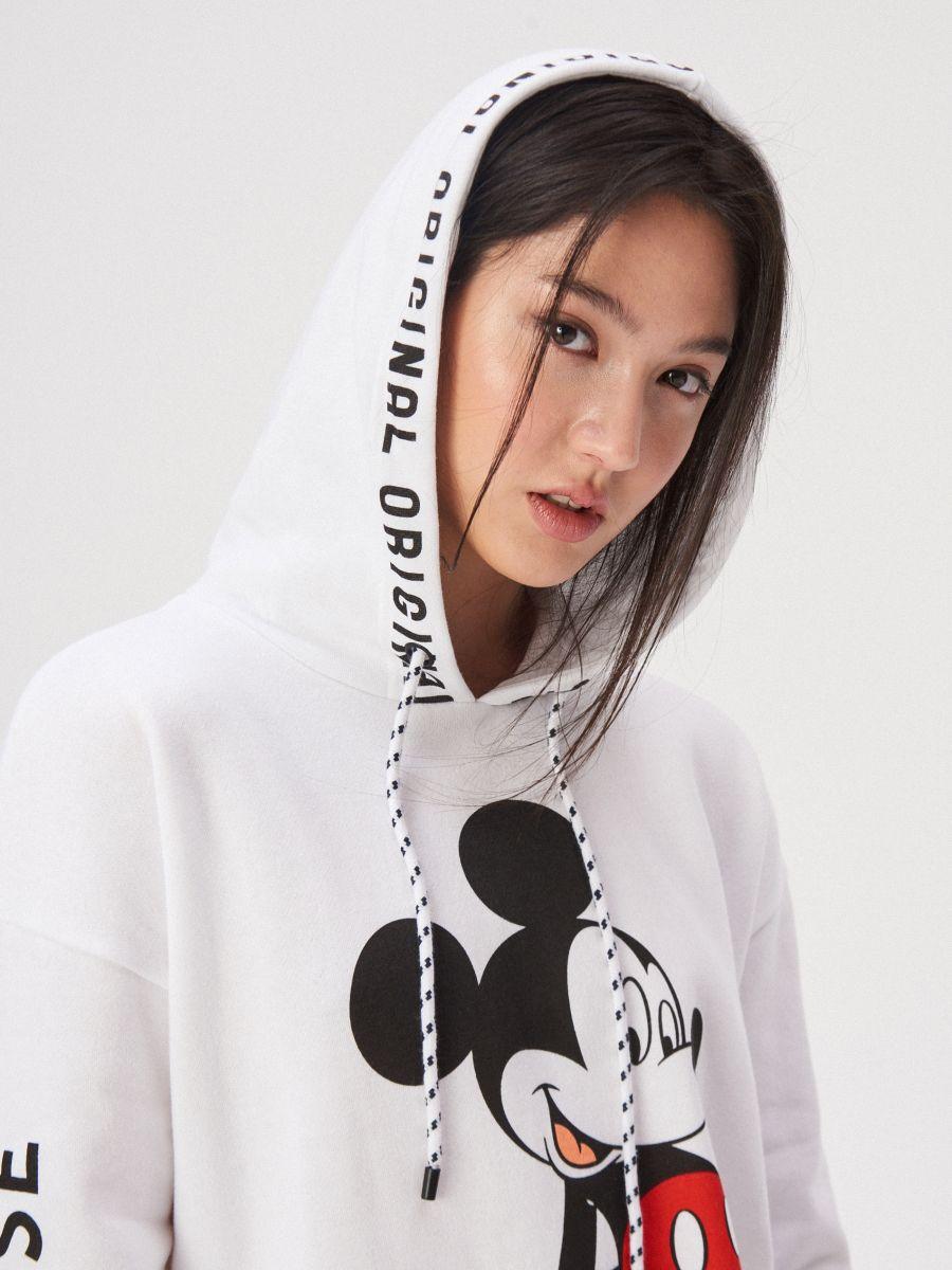 Adidași 2018 stiluri noi bine cunoscute Bluză cu imprimeu Mickey Mouse, SINSAY, WH152-00X