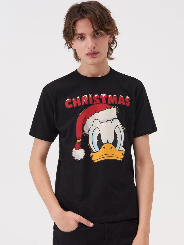 Koszulka świąteczna Kaczor Donald