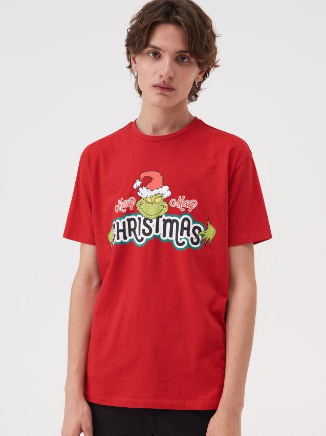 Koszulka świateczna Grinch