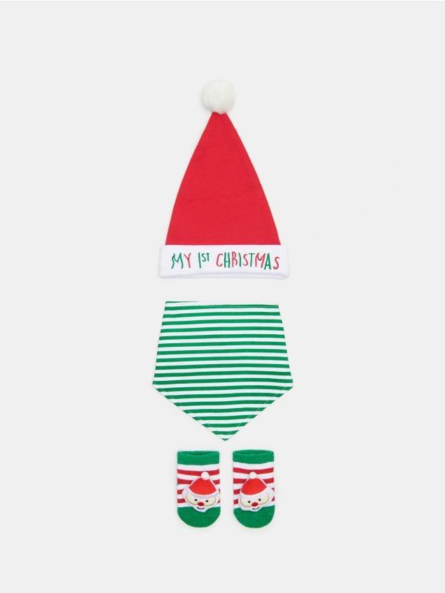 Zestaw świąteczny dla niemowlaka