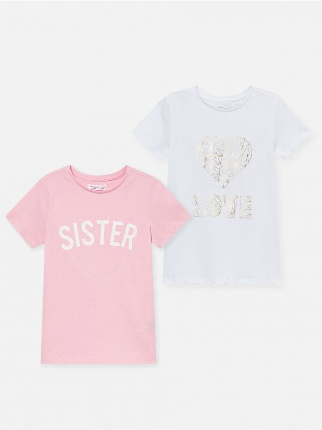 2 pack koszulek