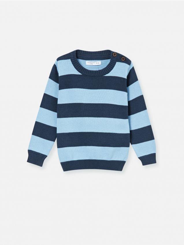 Langärmliger Pullover aus Baumwolle