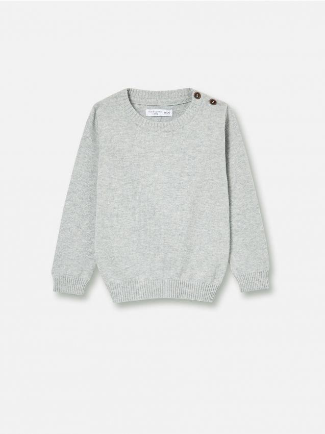 Pamučni džemper dugih rukava