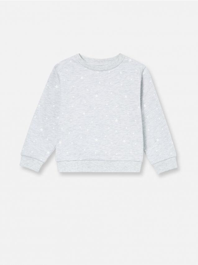 Bluză cu imprimeu allover