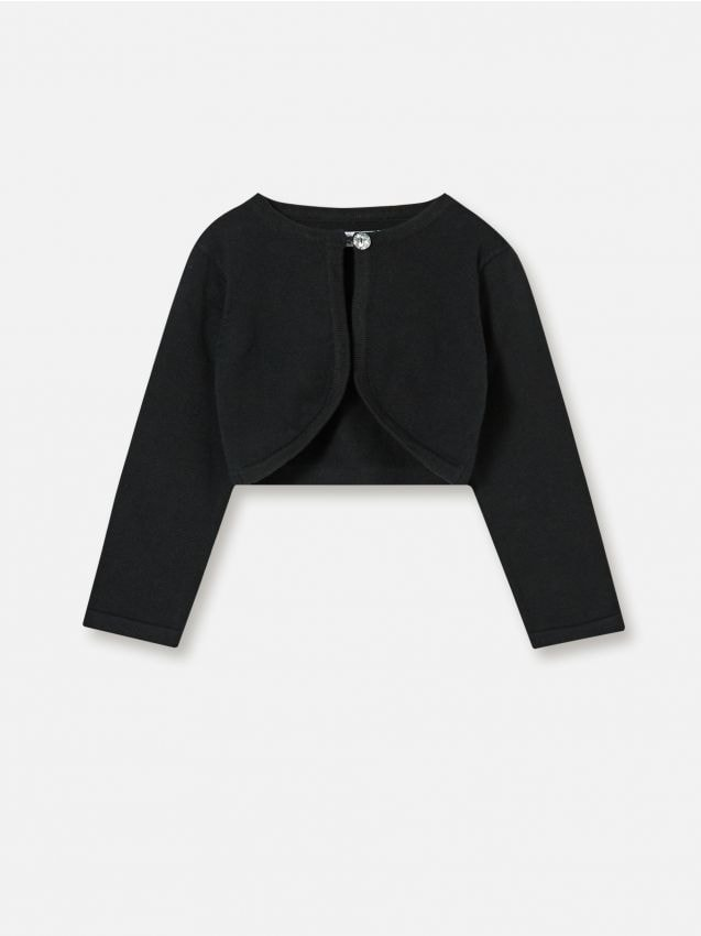 Pamučni džemper u stilu bolera