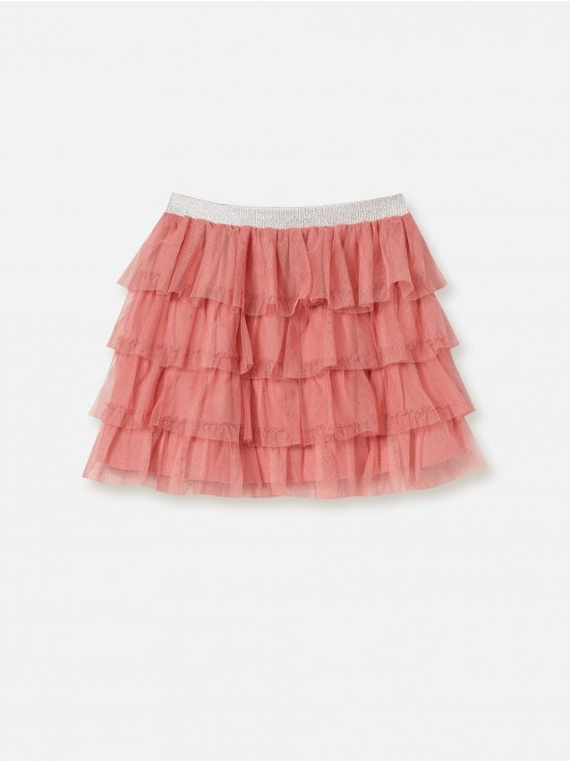 Skirt with valance