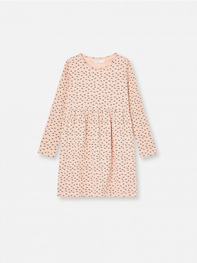 Pamučna haljina s printom