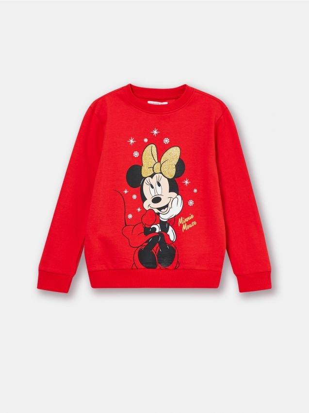 Bluza z nadrukiem z Myszką Minnie