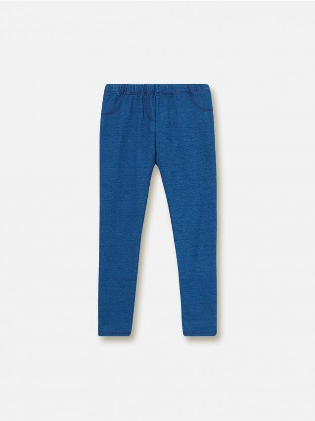 Jeansowe legginsy
