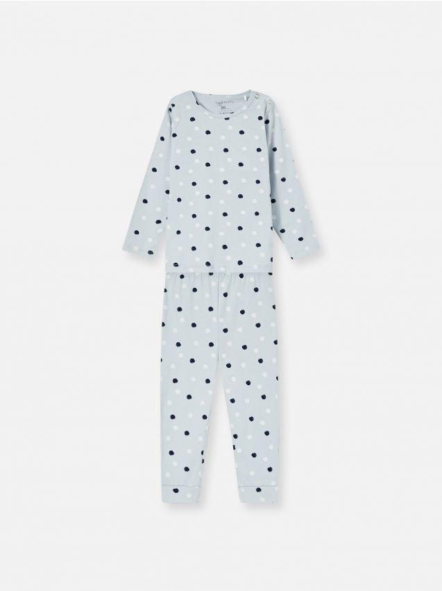 Dvodijelna pidžama s printom