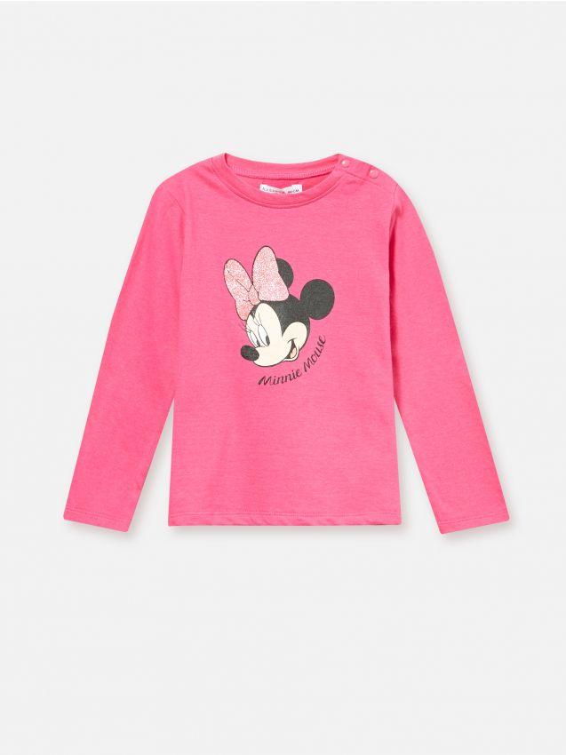 Koszulka z długimi rękawami Minnie Mouse