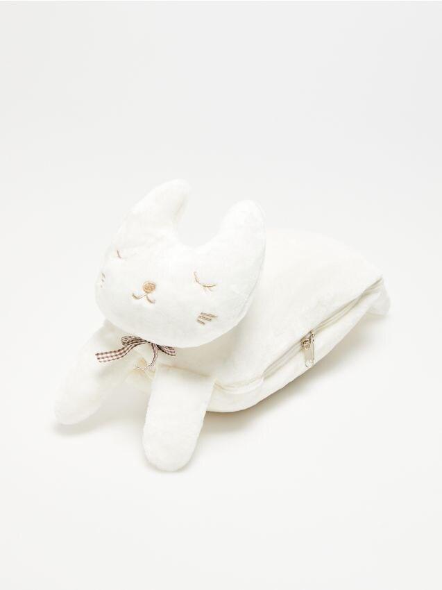 Set format din pătură și jucărie de pluș