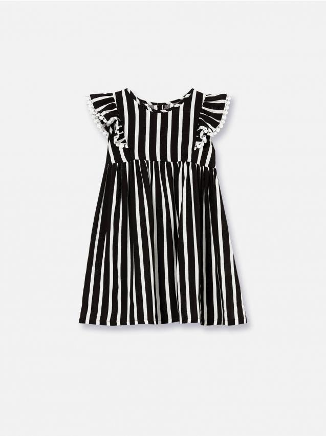 Šaty s volánovými rukávmi