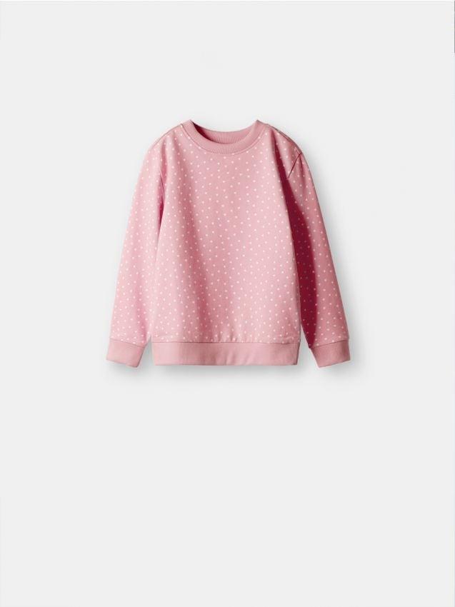 Sporta džemperis ar smalku apdruku