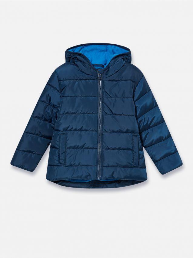 Teplá bunda s kapucňou