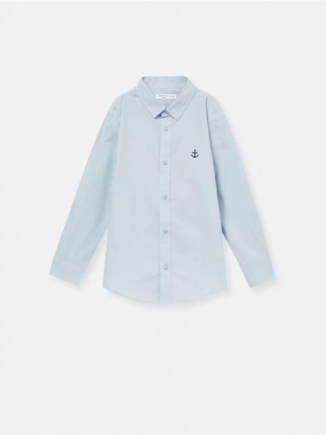 Koszula z drobnym haftem