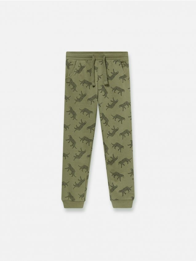 Sweat joggers with print
