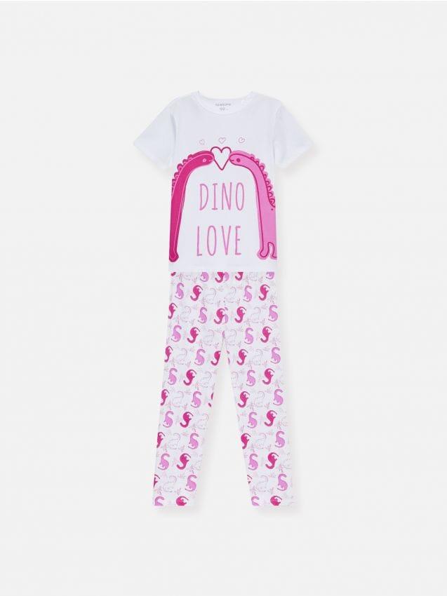 Pidžama s uzorkom dinosaura