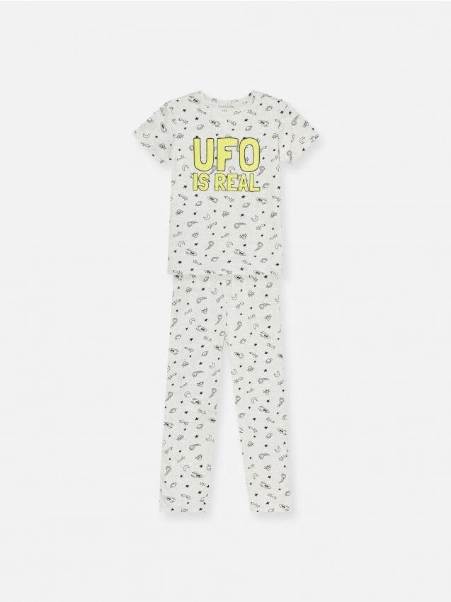 Piżama z nadrukiem