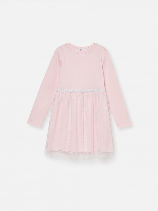Šaty s tylovou dolnou časťou