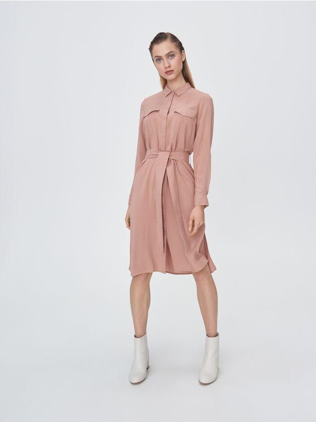 Viskózové košeľové šaty