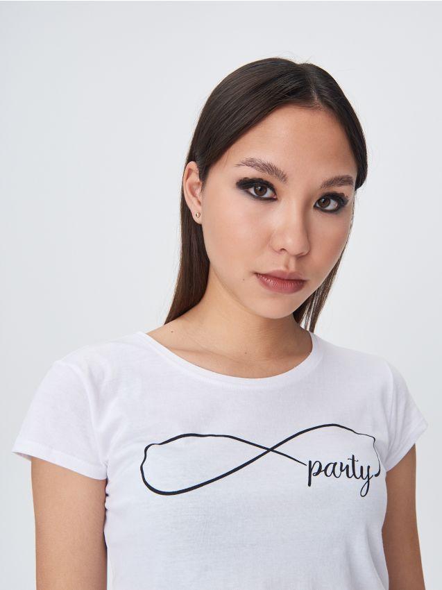 Basic majica kratkih rukava s natpisom