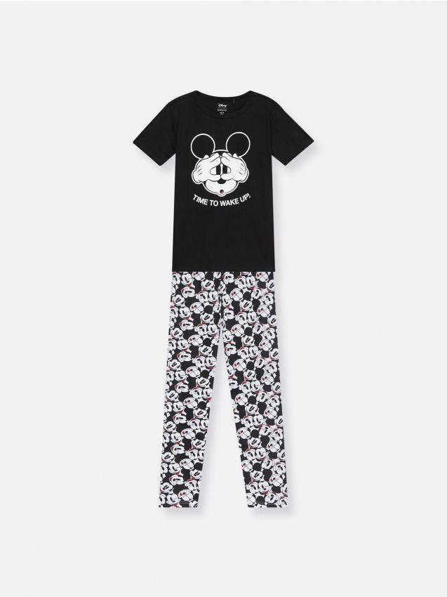 Bawełniana piżama Mickey Mouse