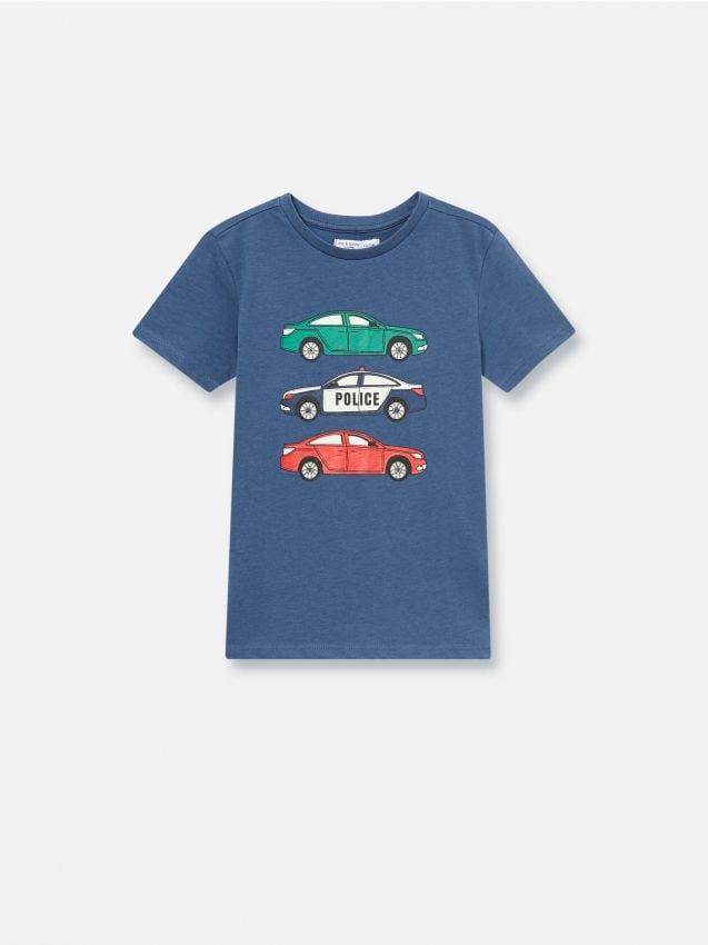 Tričko s potlačou s motívom auta
