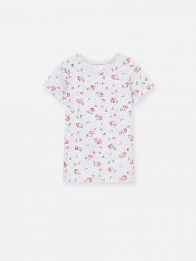 T-shirt with micro print