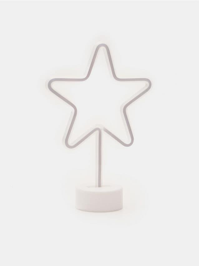 Neonowa lampka gwiazda