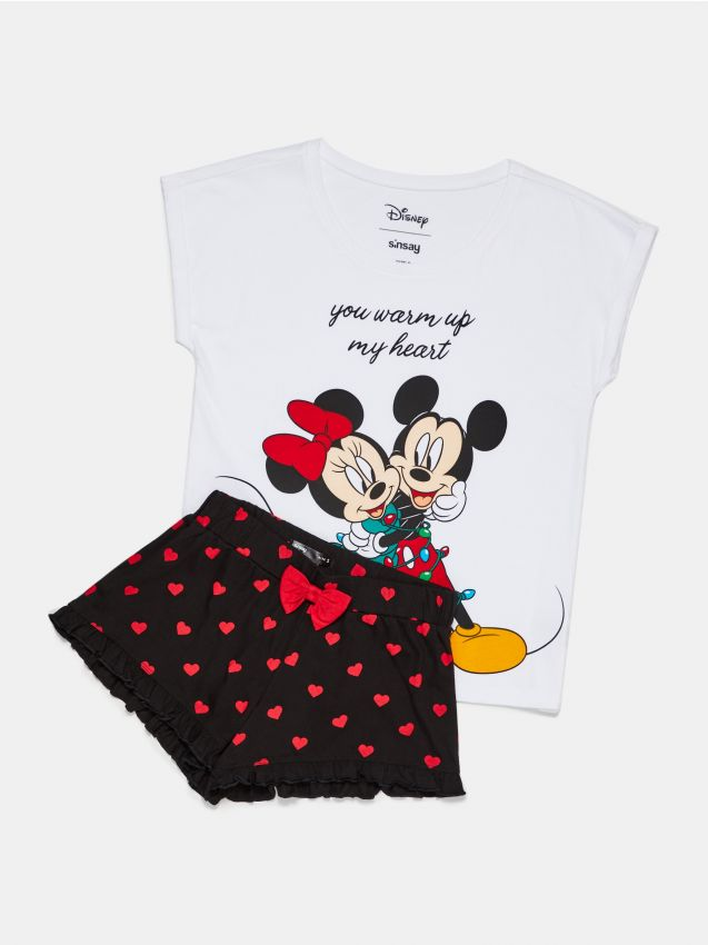 Piżama dwuczęściowa z Myszką Miki