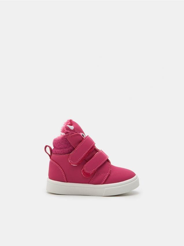 Wysokie sneakersy z ociepleniem
