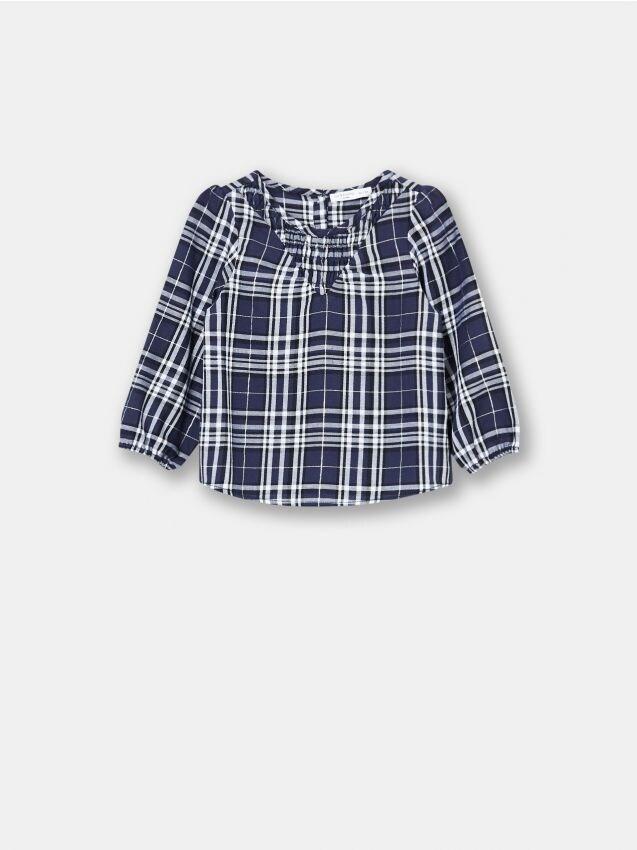 Bluzka niemowlęca w kratkę