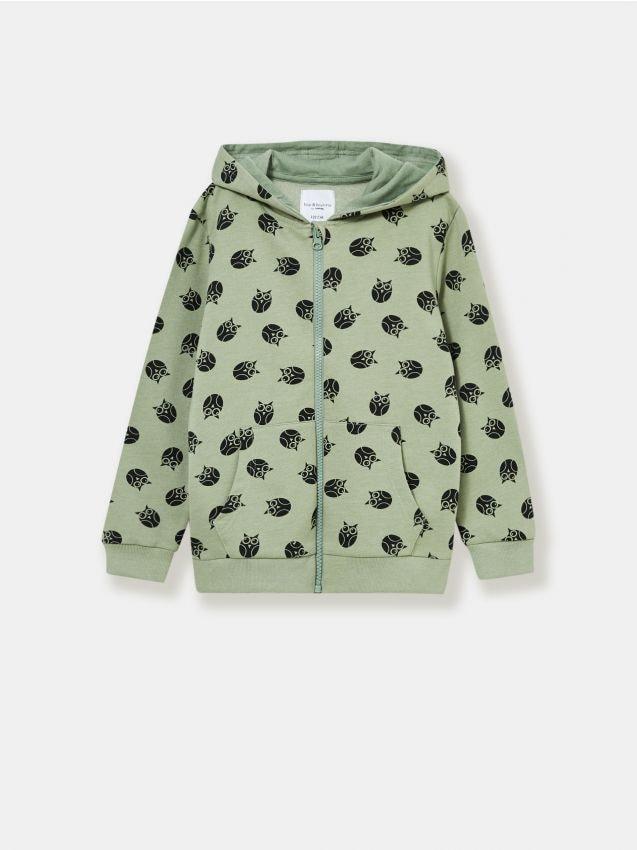 Bluza dziewczęca w sowy