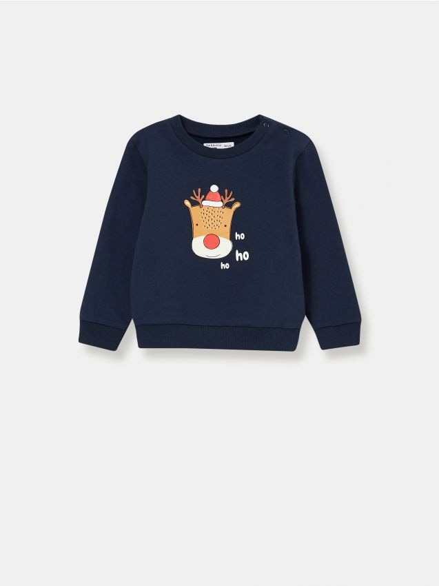 Bluza ze świątecznym reniferem