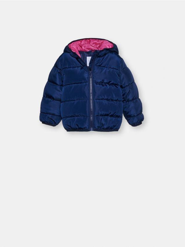 Pikowana kurtka ze wzorem
